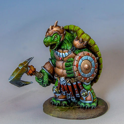 Turtle Warrior with Axe