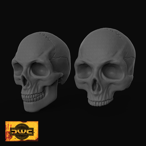 30mm Resin Skulls x 50 (Bag of Skulls)