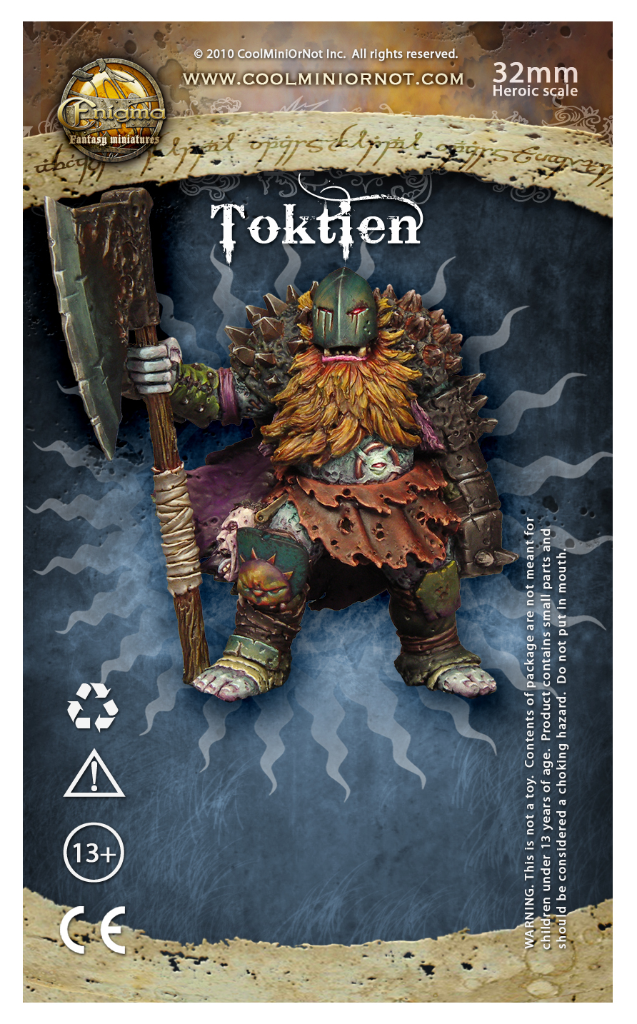 Toktien, spiny chaotic dwarf
