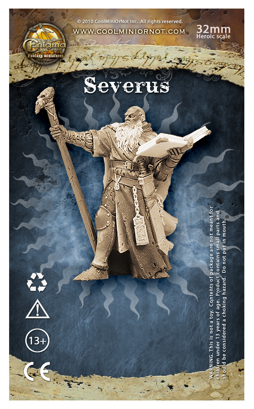 Severus, Battle Wizard