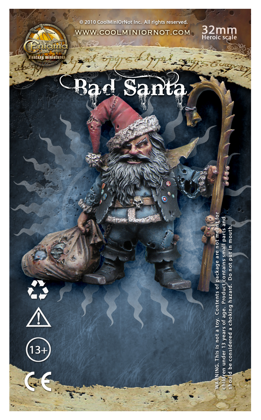 Bad Santa (Christmas 2009) Seasonal Figure