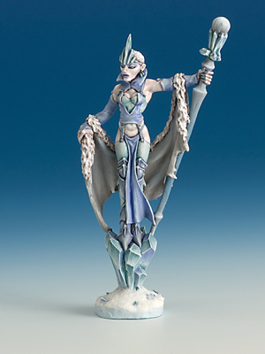 Christmas Miniature 2008 Ice Sorceress