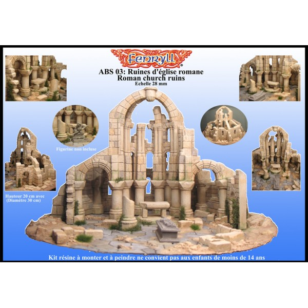 Roman church ruins - huge version -