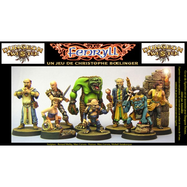 Dungeon Twister Miniatures set