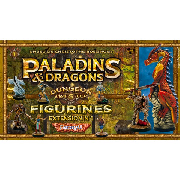 Dungeon Twister Paladins & Dragons