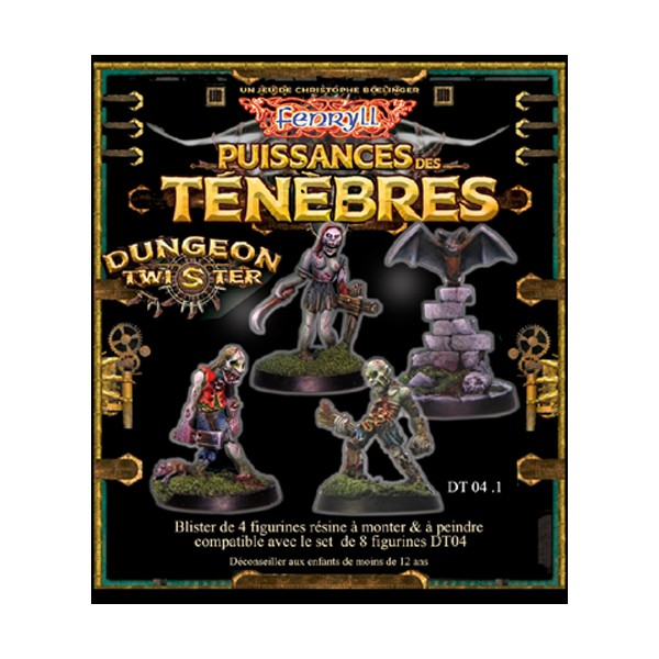 Dungeon Twister Zombis set