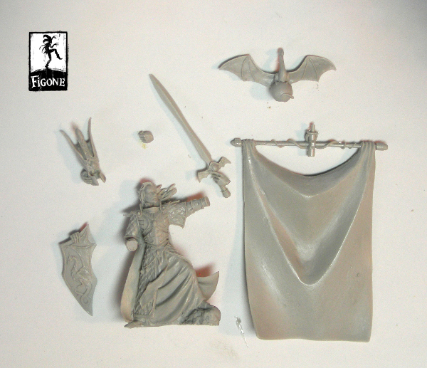 Nathaniel, Dragon Elf Prince / High Elf Banner kit