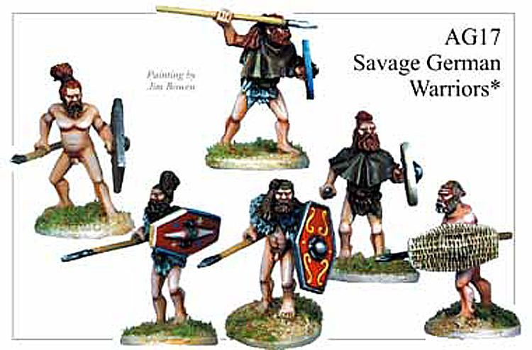 Ancient German - Savage German Warriors