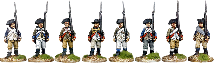 Continental Infantry