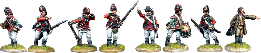 British 5th Foot Light Infantry Command