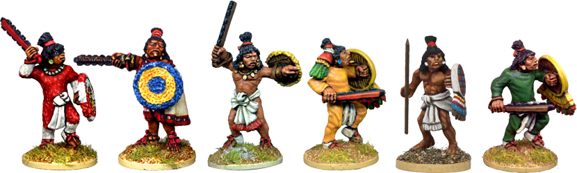 Cuauhtli's Veteran Warriors