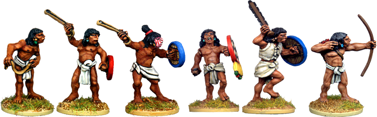 Novice Aztec Warriors