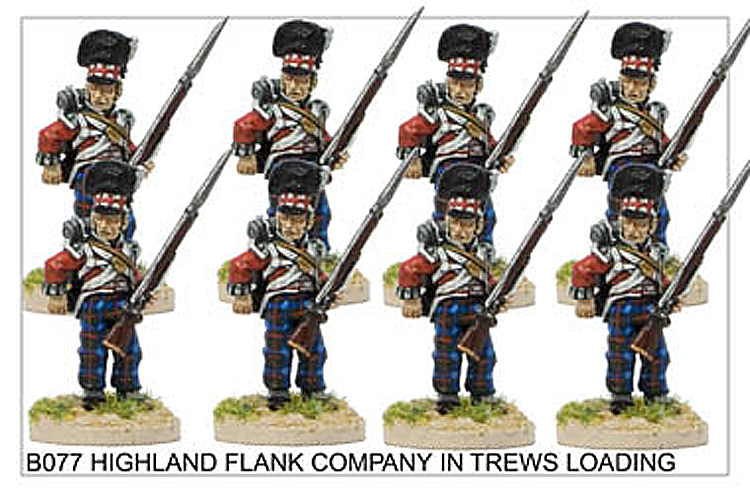 Napoleonic British - Highland Flank Company In Trews Loading