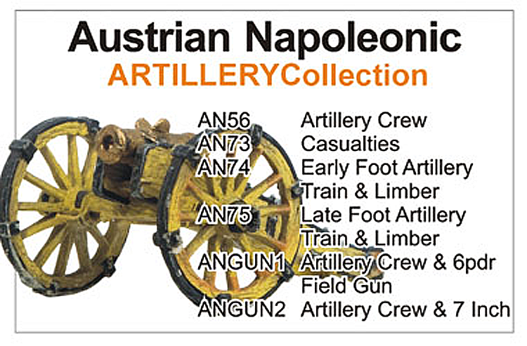 Napoleonic Austrian Artillery & Generals Collection