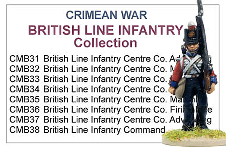 Crimean War British The Thin Red Line Collection
