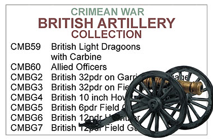 Crimean War British Artillery Collection
