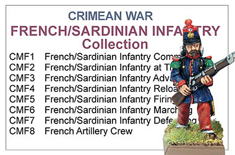 Crimean War French Infantry Collection