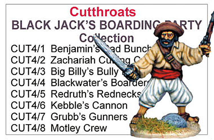 Black Jacks Boarding Party Collection