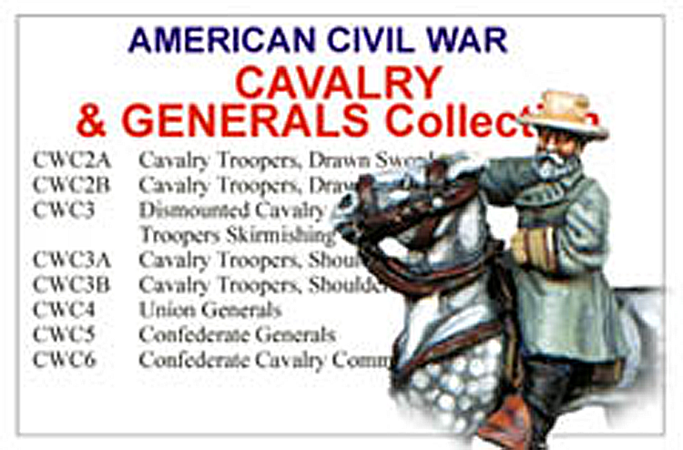 American Civil War Cavalry And Generals Collection