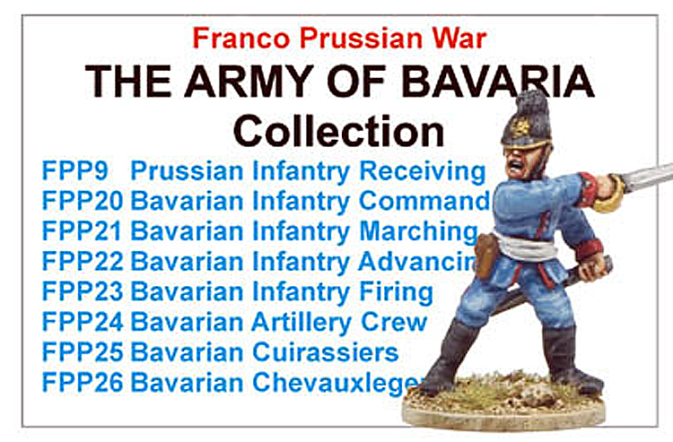 Franco Prussian War Army Of Bavaria Collection