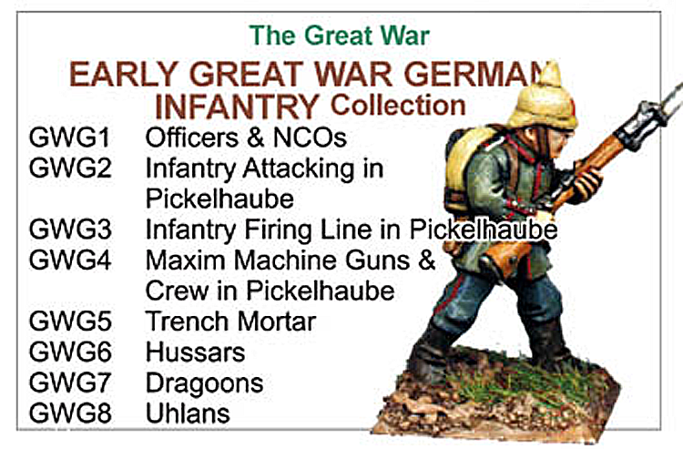 Great War Early German Infantry Collection