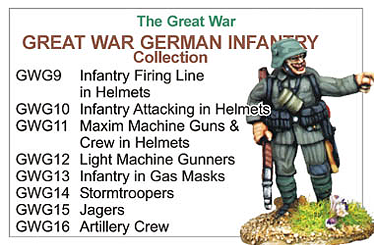 Great War German Infantry Collection