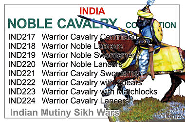 Indian Noble Cavalry Collection