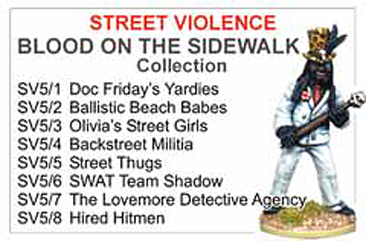 Blood On The Side Walk Collection