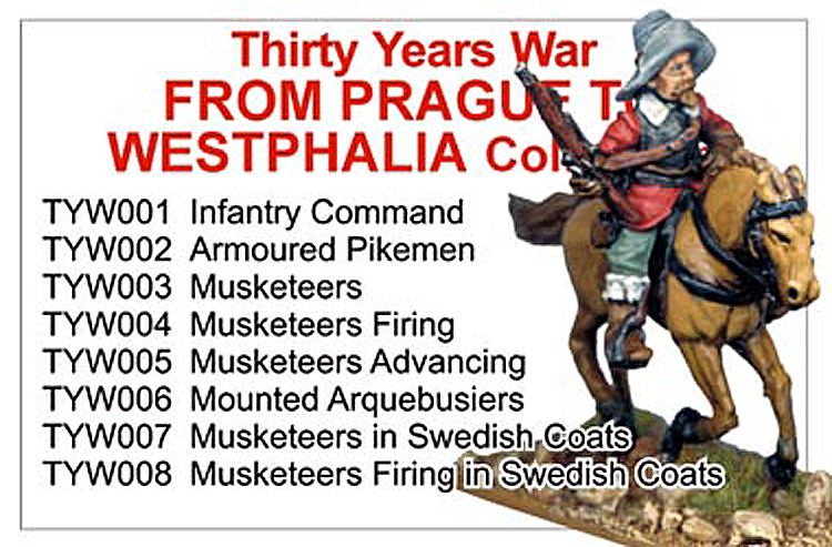 Thirty Years War From Prague To Westphalia Collection