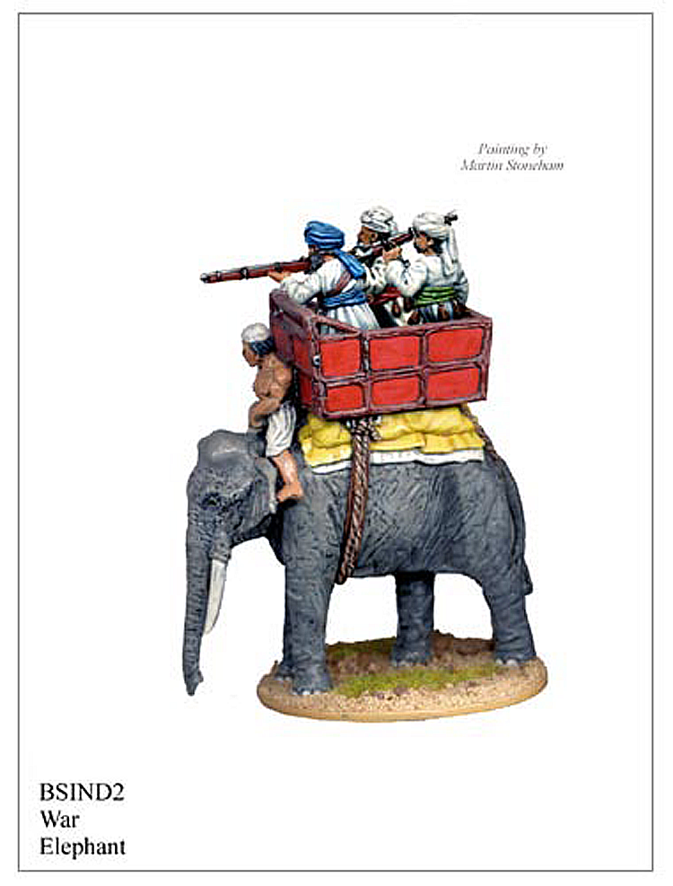 Colonial Indian Mutiny - Indian War Elephant