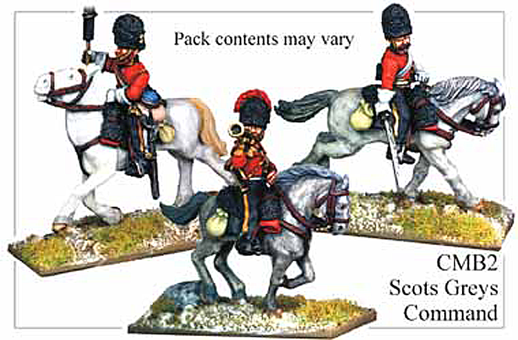 Crimean War British - Crimean British Scots Greys Heavy Dragoons Command