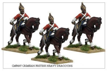 Crimean War British - Crimean British Heavy Dragoons