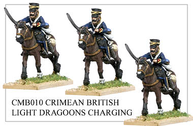 Crimean War British - Crimean British Light Dragoons Charging