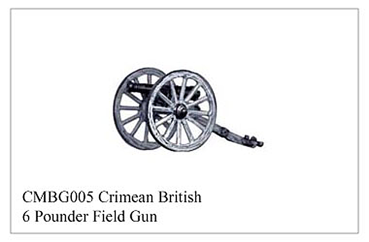 Crimean War British - Crimean British 6 Pounder Field Gun