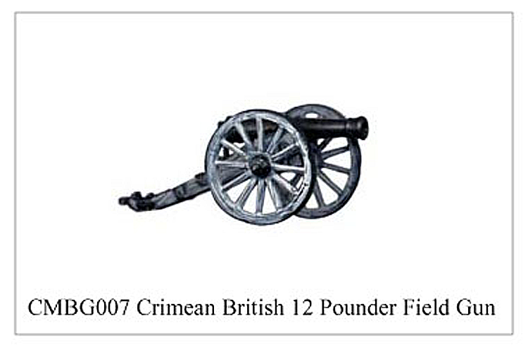 Crimean War British - Crimean British 12 Pounder Field Gun