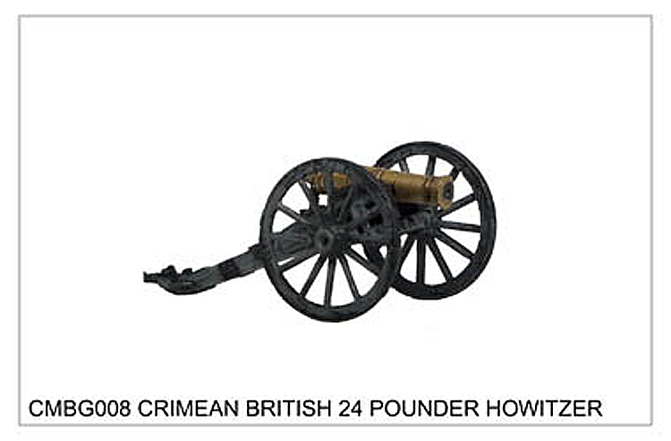 Crimean War British - Crimean British 24 Pounder Howitzer