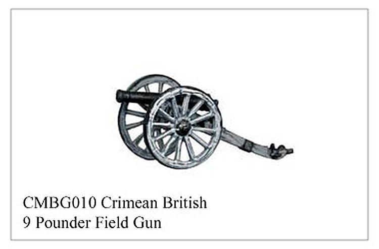 Crimean War British - Crimean British 9 Pounder Field Gun