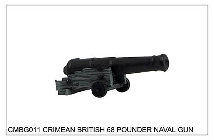 Crimean War British - Crimean British 68 Pounder Naval Gun