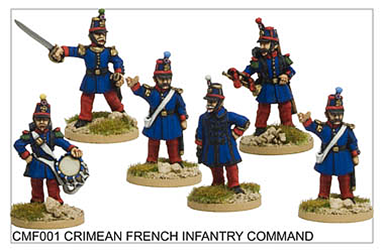 Crimean War French - Crimean French Infantry Command