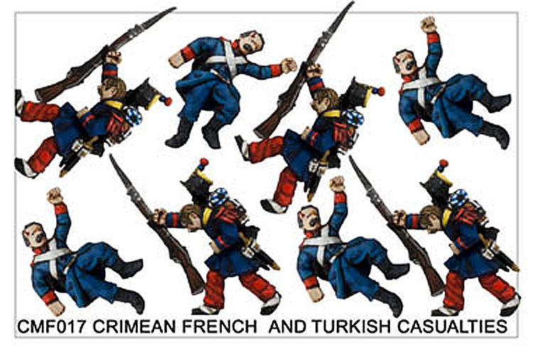 Crimean War French - CRIMEAN FRENCH  AND TURKISH CASUALTIES