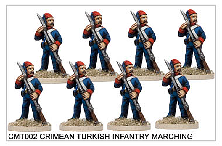 Crimean War Turkish - Crimean Turkish Infantry Reloading