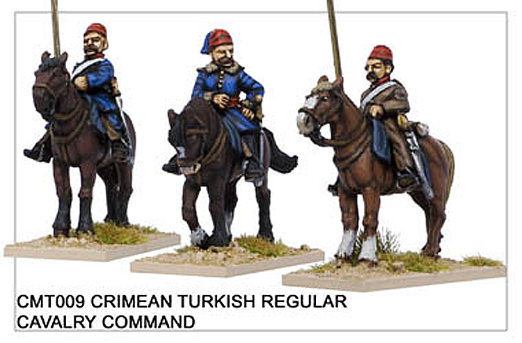 Crimean War Turkish - Crimean Turkish Regular Cavalry Command