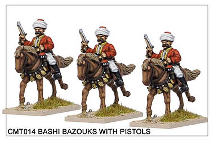 Crimean War Turkish - Bashi Bazouks With Pistols