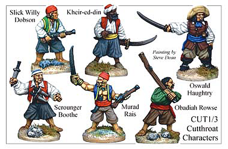 Pirates And Swashbucklers  - Cutthroat Characters