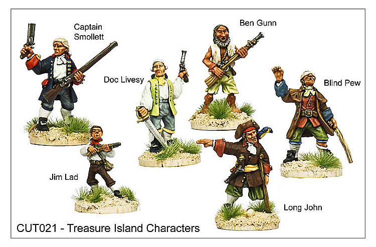 Pirates And Swashbucklers  - Treasure Island Characters