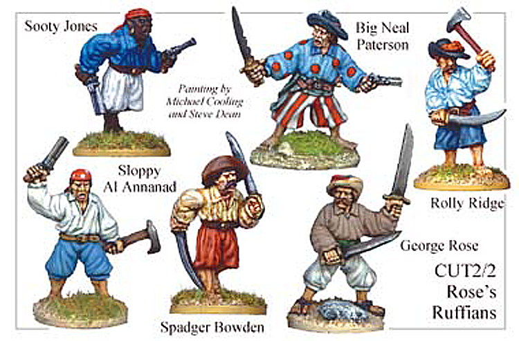 Pirates And Swashbucklers  - Roses Ruffians