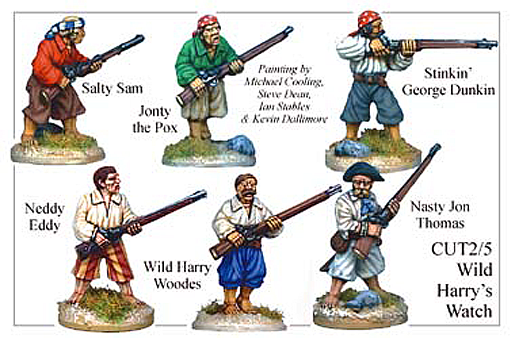 Pirates And Swashbucklers  - Wild Harrys Watch