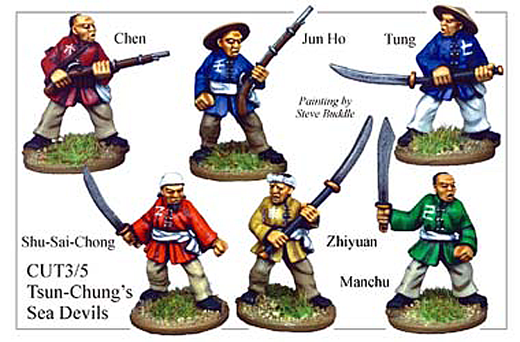 Pirates And Swashbucklers  - Tsun Chung Sea Devils Chinese Pirates