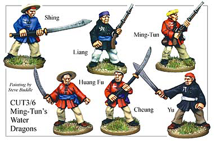 Pirates And Swashbucklers  - Mink Tuns Water Dragons Chinese Pirates