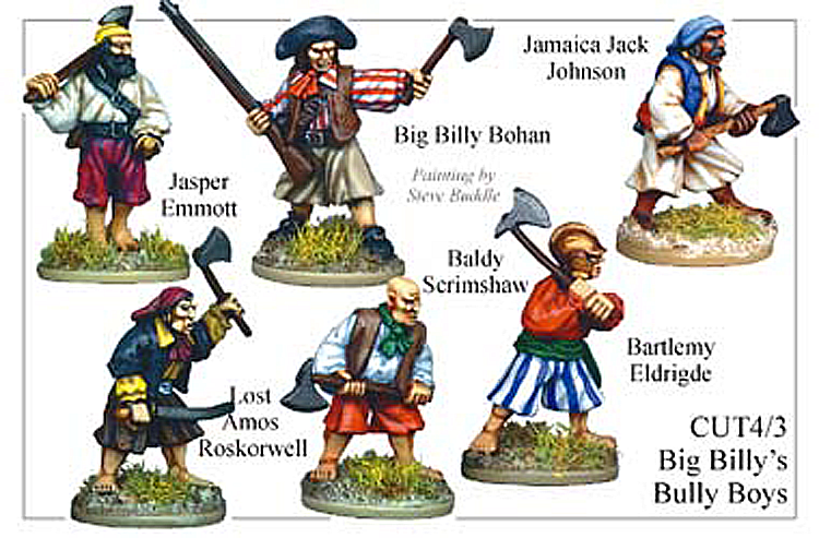 Pirates And Swashbucklers  - Big Billys Bully Boys